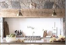 Style - Rustic Chic / Rustic, textural, natural, a relaxed vibe, easy to live with. Stylishly simple and clean lined.