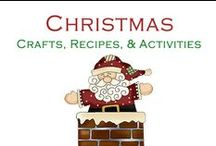 Christmas / Crafts, Recipes, and Activities for Christmas!