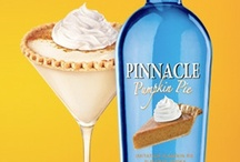 Pinnacle® Vodka Pumpkin Pie / Pinnacle® Pumpkin Pie is here and we want to celebrate all things pumpkin. Event if it doesn't call for Pinnacle®  Pumpkin Pie...you can always add some. Yum!