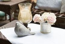 Wedding Decor / Wedding decor and decorating, ideas for flowers, color schemes, tabletop, set ups, seating.