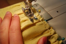 Sewing - tutorials and tips