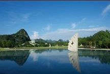 Club Med Guilin, China / Our new Resort in China, situated in the GuangXi province, South China. This resort is a modern luxury place amidst ancient lands. A place full of culture and exoticism.  / by Club Med