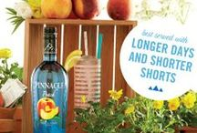 Pinnacle® Peachy Keen / A flavor for every blossom blooming. With over 40 unique flavors, Pinnacle offers more than any other vodka – inviting you to discover, enjoy, and share an unexpected experience every time