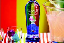 Pinnacle® Vodka Pride Punch / Whether you're marching in the parade or cheering from the side, celebrate your pride with a rainbow of flavors. #loveinallflavors