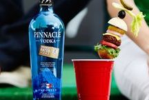 Pinnacle® Sunday Funday / Be the MVP with Pinnacle® Vodka. Premium vodka without the premium.