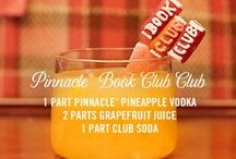 Pinnacle® Vodka Book Club Club / When it's your turn to host book club, do it in style.  From how to bring through the book theme in your party scheme to apps and so much more, you'll leave the ladies counting down the days until it's your turn to host again. #PinnacleCocktailClub