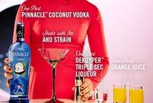 Pinnacle® Orange Coco- Naut Cosmos / Share something out of this world with Pinnacle® Vodka. The only vodka with over 40 playful flavors.