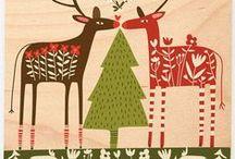 Weihnachtskarten / Alle Jahre wieder... Und Anregungen für die Zeit davor und danach.