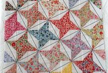 Quilted Favorites / Quilt sewing tutorials, and easy quilt blocks, along with select examples of beautiful pieced American quilts.