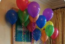Kasen's Bubbles, Balls, & Balloons Brunch / 3rd birthday celebration