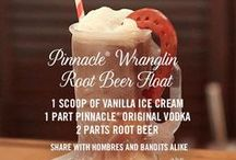 Pinnacle® Vodka Wranglin' Root Beer Float / Rustle up something tasty with the Pinnacle® 