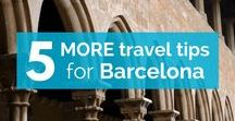 Tips to travel in/to Barcelona / Learn eveything about how to travel in Barcelona. Here are all sorts of tips to make your holidays or journey easy! Don't hesitate to follow us to learn the best tips about Barcelona!