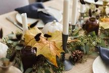 Thanksgiving Decor / Thanksgiving Day Entertaining