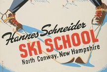 Ski prints & photo / Ilustration and vintage photo