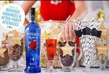 Pinnacle® Red Carpet Recipes / Roll out the red carpet for a star-studded spread worthy of a standing ovation.