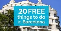 Travel cheap in Barcelona / Travel cheap in Barcelona! Follow this board and discover every cheap/free activities in Barcelona!