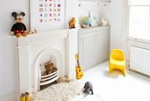 Cub's Playroom  / Inspiration (for our next house) to make an awesome playroom.