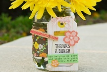 Thank You's / Quick, easy, sometimes time-consuming but always amazing thank you gifts to give!