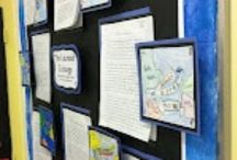 Bulletin Boards / Bulletin board ideas and pictures to provide inspiration for elementary school teachers setting up their own classroom boards.