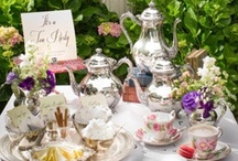 "High Tea / ""There are few hours in life more agreeable than the hour dedicated to the ceremony known as afternoon tea"""