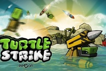 TurtleStrike Concept Art / Art from our upcoming title TurtleStrike