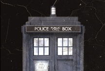 Nerd stuff. / Dr. Who and Downton Abbey and Superhero and Nerdy