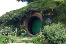Hobbition - my epic journey / ... I spent a magical day at Hobbiton ...