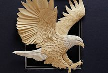 Carved Wood / Wood carving / by Michael Wasnock
