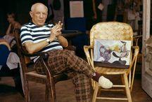 Art : Picasso / by Paul Kavanagh Studio