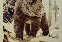Pyrography and Art / Wood burning / by Michael Wasnock