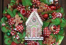 Wreaths / Tulle, Burlap Wreaths. DIY, ideas, and how-To's  on wreaths.