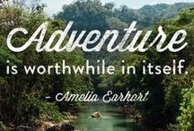 Inspiring Travel Quotes / Freedom to discover the wider world around us !