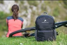 Ultralight Foldable Backpack / You can take it anywhere! Folding and unfolding is easy and takes just a matter of seconds (NOW available on Amazon). #backpack #hiking #camping #backpacking