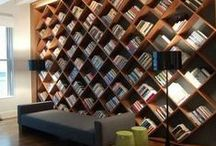 Bookish. / Books, Bookshelves, Bookcases. / by Jenny Doss