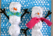 Winter Activities for Kids / Winter related crafts, snacks, books, learning activities, and play ideas.