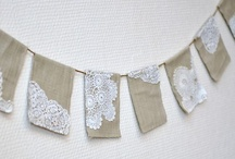 garlands/banners/pennants / by Valerie Banks