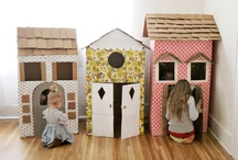 Kids Indoor Play / Ideas and tips for indoor play
