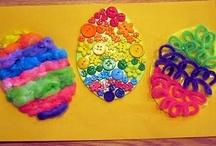 Letter E / Letter E crafts, snacks, books, learning activities, and play ideas. Themes: Elephants, Eggs #ece #preschool #kindergarten #homeschool
