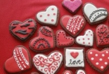 Hearts, love, valentine <3