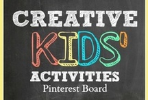 Creative Kids' Activities / Play ideas, learning activities and parenting inspiration to help you make the most of the early years. Whether you're a teacher or a parent this will definitely be your kids' favorite Pinterest Board! / by Shaunna @ Fantastic Fun and Learning