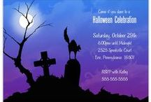 It's a Halloween Celebration! / Make sure all the ghosts and ghouls come out for your fantastic Halloween celebration!