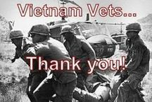 VIETNAM WAR / To the brave men and women who fought, bled, and died in that shit hole of a country. Some returning two and three times or more. I thank you for your service. / by John T. Gream