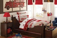 My Little Guys' Firefighter Room / kids room ideas / by Kori Anthony