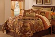 Bedding: Master Bedroom / A collection of our bedding sets and comforters. To purchase, click on the link or visit us @ www.lexiskreationz.net / by Lexi's Kreationz