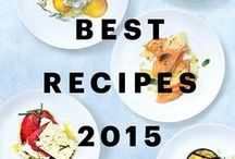 "Best Recipes 2015 Cookbook / We have a new cookbook! ""Best Recipes 2015"" features 150 of our absolute best recipes from the past year, along with useful tips, techniques, and more. Here are a few of our favorites from the book. Get your copy here: www.CookBA2015.com / by Bon Appetit Magazine"