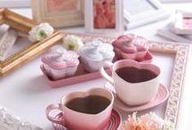 Cups, teapots, mugs, etc.