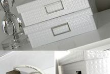 Home Organization / Neat ideas to keep everything in its place and images to inspire you to do it!