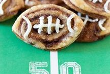 Football Football! / Football party ideas, Football party recipes, Football party themes, Super Bowl party ideas, Super Bowl party recipes, Super Bowl party decor
