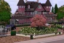 The Sims 3 / I like to vicariously live through the lavish homes I build for my Sims.  I go for an over-the-top style, homes built for those with a deep disposable income  / by Walter Adam Heath Tinsley