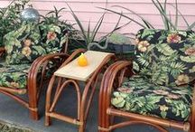 Rattan Furniture / Tropical furniture style with the strength of natural rattan. / by Wicker Paradise